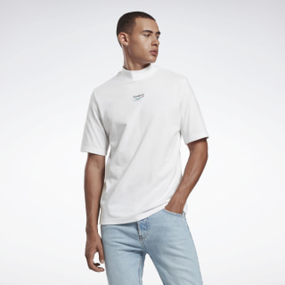 QQR A SMALL TEE MOCK NECK White FS6663