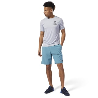 Training Knit-Woven Shorts Mineral Mist DU5254
