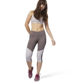 Legginsy Workout Ready Capri Purple D95505