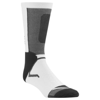 Reebok CrossFit Crew Socks White/Black CD7290