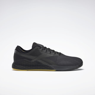 Кроссовки Reebok Nano 9 Black / True Grey 8 / Toxic Yellow FU9371
