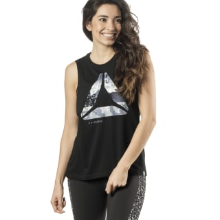 One Series Winter Graphic Tank Black DY0234