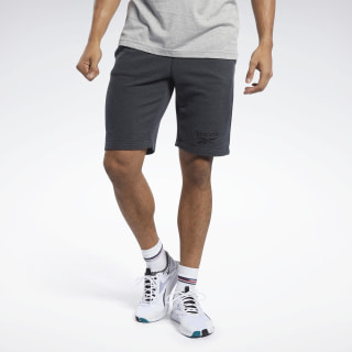 Спортивные шорты TE MELANGE SHORT Black FJ4666