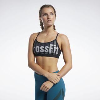 Reebok CrossFit® Medium-Impact Skinny Bra Black FK4375