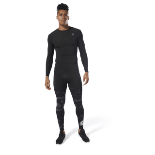 Training Compression Tight Cold Grey DP6557