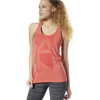 ACTIVCHILL Graphic Tank Top Rosette EH4355