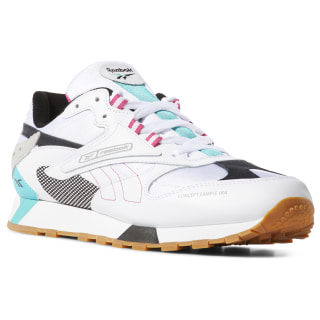 Кроссовки Classic Leather ATI 90s WHITE/TEAL/BLK/GREY/PINK DV5373