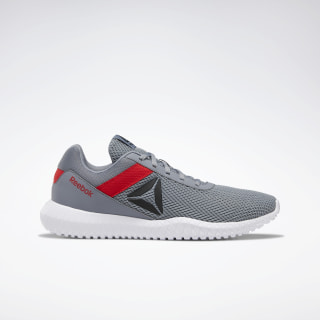 Reebok Flexagon Energy Shoes Cold Grey 4 / Primal Red / Black DV9359
