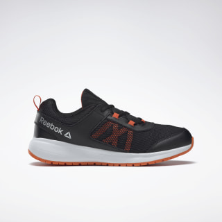 Reebok Road Supreme Shoes Black / Orange / Silver DV8347
