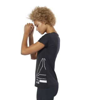 Camiseta ACTIVCHILL Graphic Black DU4165