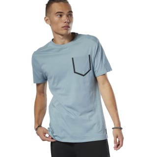 Training Supply Move T-Shirt Teal Fog DU3715