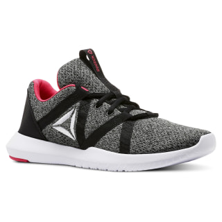 Zapatillas REEBOK REAGO ESSENTIAL BLACK/TIN GREY/WHITE/TWISTED PINK CN5190
