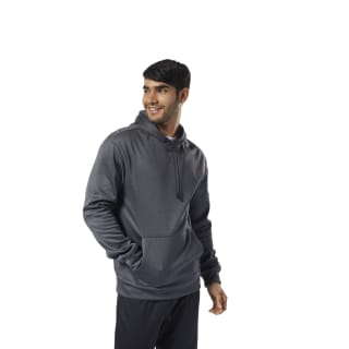 Худи Workout Ready Thermowarm Grey/black EJ8761