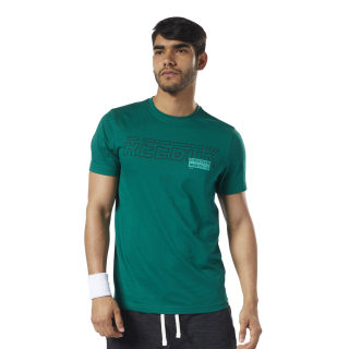 Graphic Series Foundation Tee Clover Green EC2071