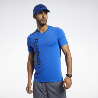 Remera Workout Ready ACTIVCHILL Humble Blue FK6172