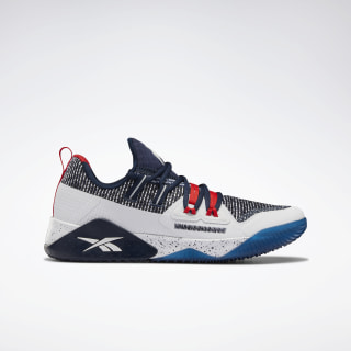 Reebok JJ III Collegiate Navy / White / Primal Red EF8561