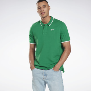 Classics Polo Shirt Basil Green GF4988