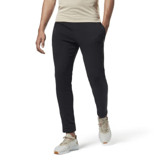 Training Essentials Broek met Boorden Black DU3752