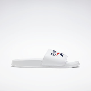 Reebok Classic Slides White / Collegiate Navy / Radiant Red EH0668