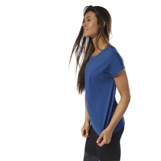 T-shirt en mesh Panel Bunker Blue D95036