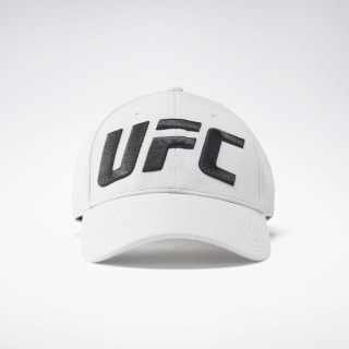 UFC Logo Baseball Hat Sterling Grey FL5194