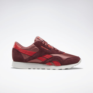 Tenis Classic Leather Nylon Maroon / Rose Dust / Red DV6900