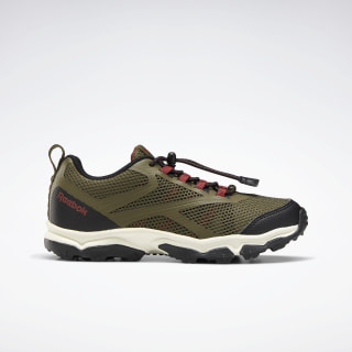 Reebok Rugged Runner Army Green / Black / Red Ember EF6582