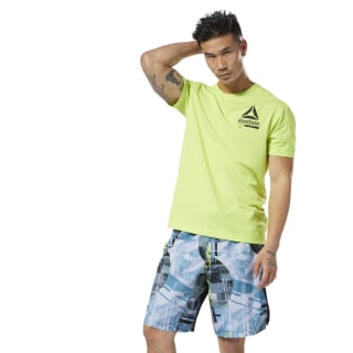 Camiseta M Ost Speedwick Move neon lime DP6571