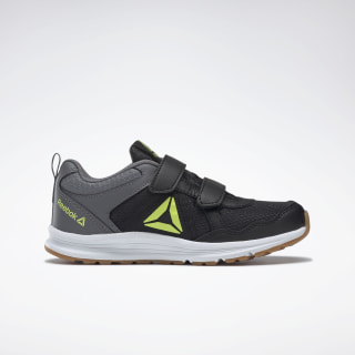 Reebok Almotio 4.0 Shoes Black / Solar Green / Cold Grey 5 EF3002