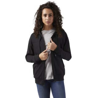 Full Zip French Terry Hoodie Black CD8220