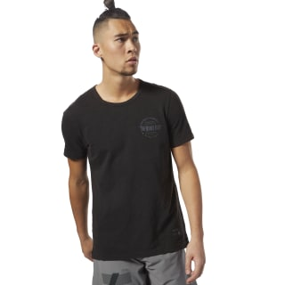 Reebok Noble Fight T-shirt Black D96036