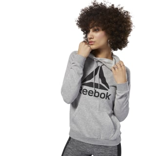 Workout Ready Logo Hoodie Medium Grey Heather / Black D95472