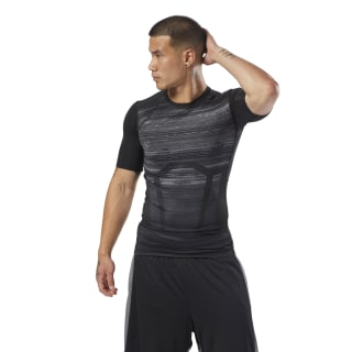 T-shirt ACTIVCHILL Compression Black CY4891