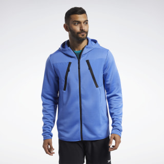 Sweat à capuche Speedwick Blue Blast FK6265