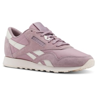 Tenis Classic Leather NYLON SEASONAL-INFUSED LILAC/PALE PINK CN2886