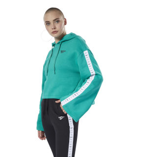 Classic Vector Hoodie Emerald EB4250