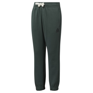 Boys Elements French Terry Pant Chalk Green DM5156