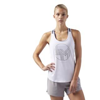 LES MILLS ACTIVCHILL Tank Top White CD6204