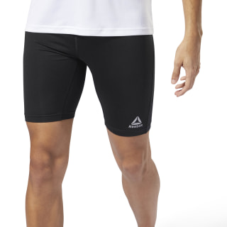 Tight corti Running Essentials Black CY4666