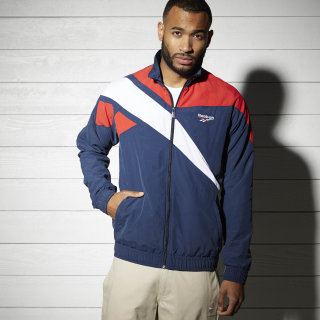 Haut de survêtement Reebok Archive Vector Collegiate Navy/Primal Red BK5092
