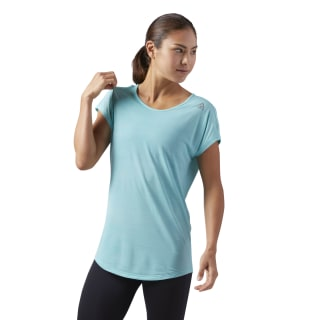 Workout Ready ACTIVCHILL T-Shirt Turquoise CD7590