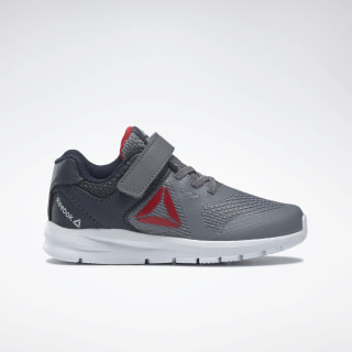 Reebok Rush Runner Shoes Grey / Navy / Red / White DV8797