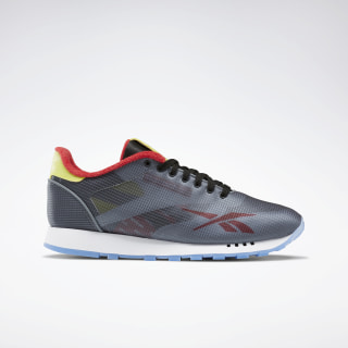 Classic Leather ATI Shoes Black / Cold Grey / Hero Yellow EH1035