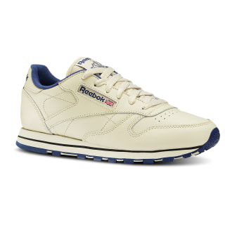 Classic Leather Ecru / Navy 28413