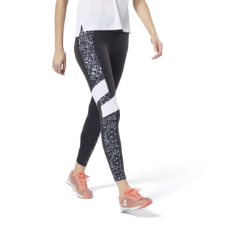 Lux Tight – Color Block Speckle Black DT9589