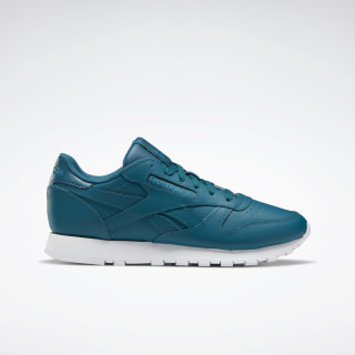 Scarpe Classic Leather Heritage Teal / White / Seaport Teal EF3033