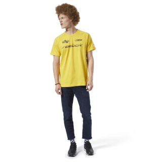 Playera Classic Leather A toxic yellow EC4570