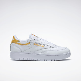 Club C Double Shoes White / Fierce Gold / White EG9916