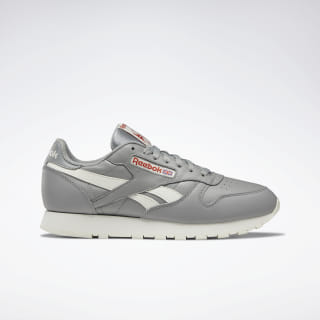 Кроссовки Reebok Classic Leather Grey/GREY/MARS DUST/CHALK DV8669