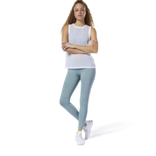 Tight Dance Mesh Teal Fog DW9234
